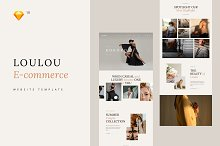 Loulou Fashion E-commerce Template by  in Websites