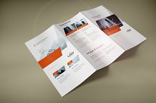 Tri-Fold Brochure Mock-up 2