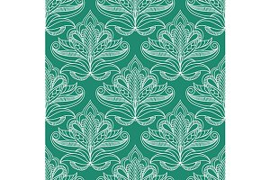 Persian openwork foliage composition