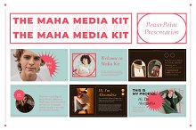 MAHA PowerPoint Media Kit Templates by  in Presentations