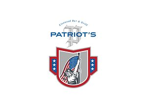 Patriot Licensed Bar and Grill Logo