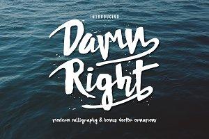 DAMNRIGHT Typeface