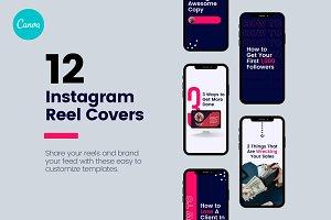 Instagram Reels Canva Templates