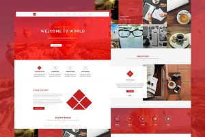 WW - One Page Responsive Theme