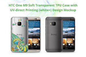 One M9 TPU Case UV Print Mock-up