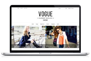 Vogue 2016 Blogger Template