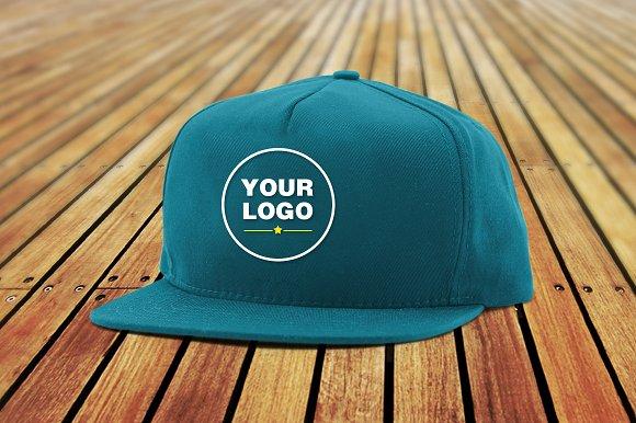 Simple hat mockup