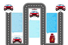 Car wash infographics