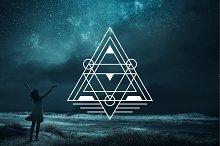 30 Sacred Geometry Vectors