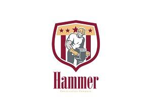 Hammer Construction Company Logo