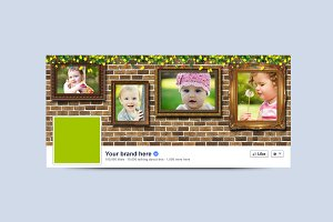 Wall photo frame cover facebook