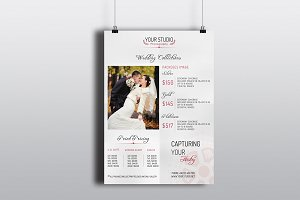 Wedding Photography Pricing -V176