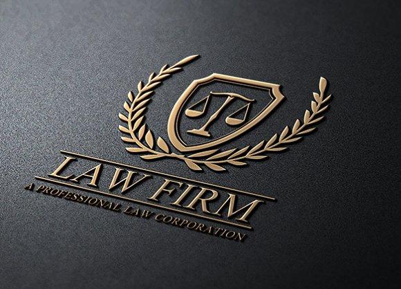 Law Firm ~ Logo Templates ~ Creative Market
