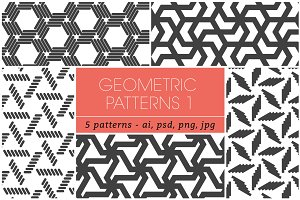 Seamless Geometric Patterns 1