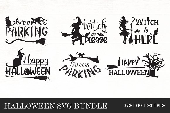 Halloween Quotes Svg Bundle Pre Designed Photoshop Graphics Creative Market