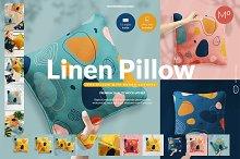 Linen Pillow 15x Mock-ups Set