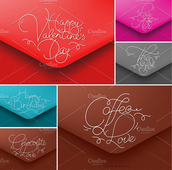 Greeting Valentines Envelopes