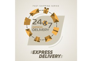 Express Delivery Round the clock