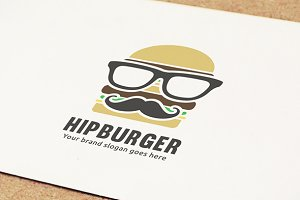 Hip Hamburger Logo