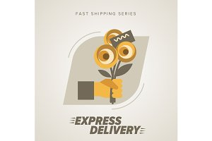 Express Flowers Delivery Service.