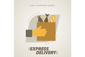 Express Food Delivery Service.