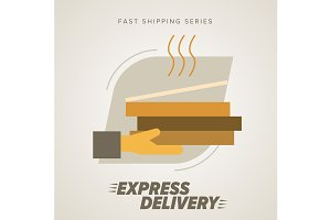 Fast food Delivery, Pizza