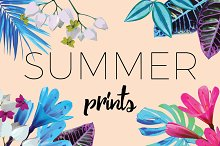 summer vector prints
