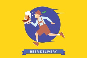 Delivery service of Beer