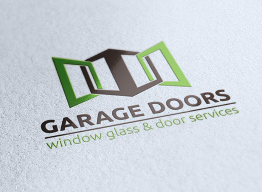 Garage Doors Logo Templates Creative Market