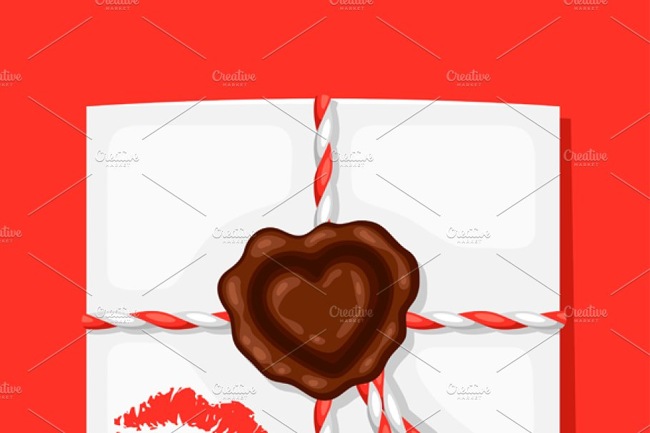 Greeting cards with envelope.