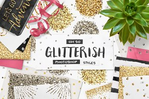 100 Glitter PS Styles + EXTRAS!