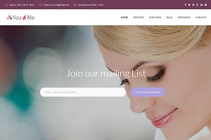 You & Me - Wedding Planner Bootstrap