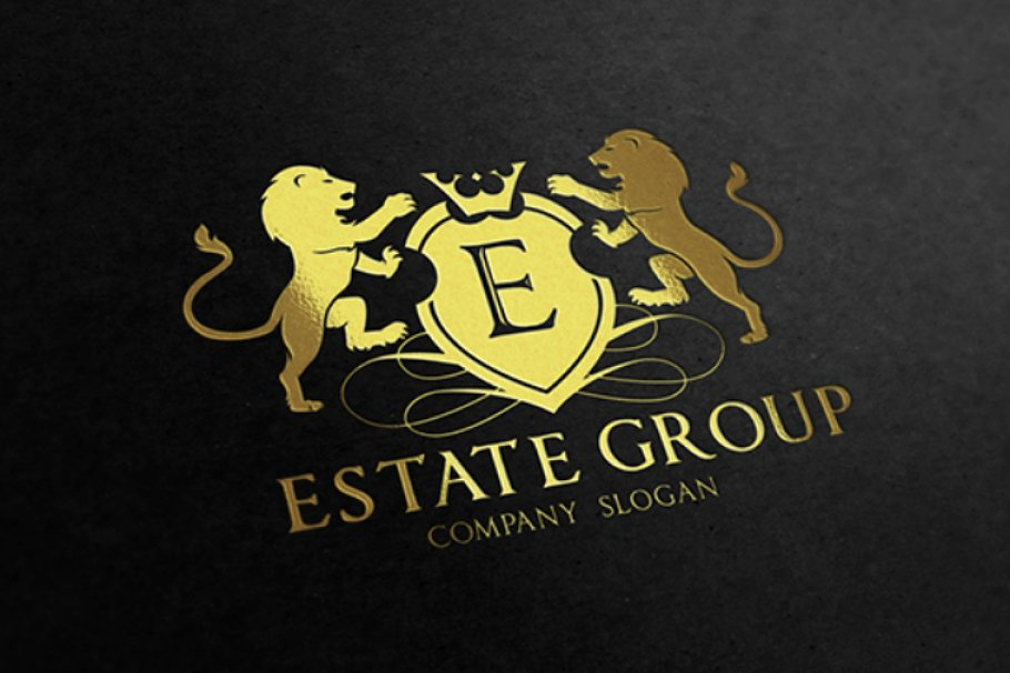 Real Estate Group in Logo Templates - product preview 8