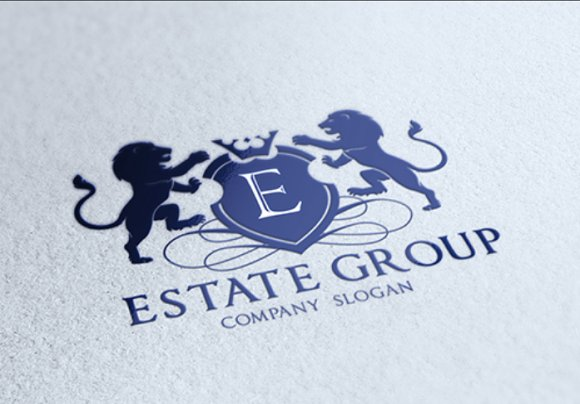 Real Estate Group in Logo Templates - product preview 2