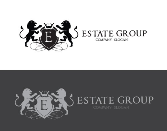 Real Estate Group in Logo Templates - product preview 3