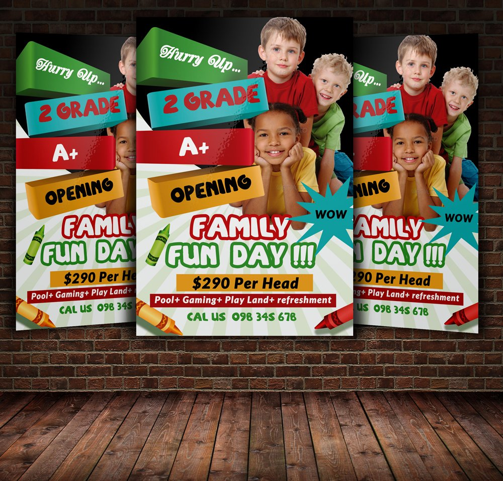 kids activities flyer photos graphics fonts themes templates kids activities flyer template