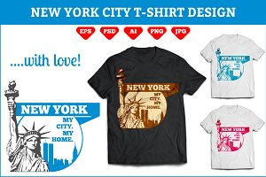 New York City T-Shirt Design