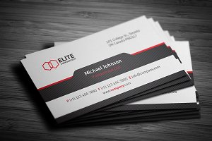 Simple and Clean Business Card 3