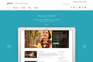 Selene - Responsive WordPress Theme