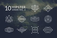 10 Hipster Logos Vol. 2