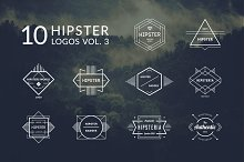 10 Hipster Logos Vol. 3