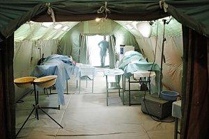 Military mobile hospital