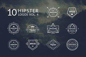 10 Hipster Logos Vol. 4
