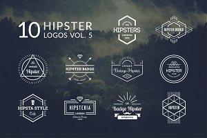 10 Hipster Logos Vol. 5