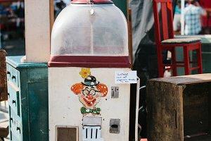 Vintage Popcorn Maker - Flea Market