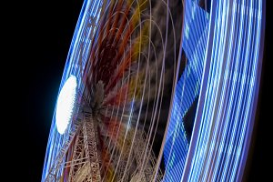 Fairground at night · #01