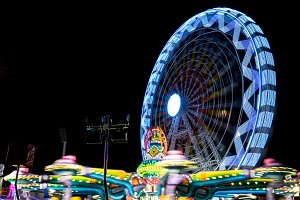 Fairground at night · #05