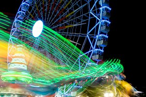 Fairground at night · #06
