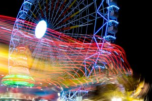 Fairground at night · #07