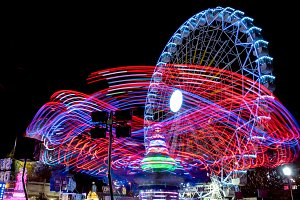 Fairground at night · #08